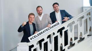 Nico Rosberg, Marco Voigt and Sven Krüger