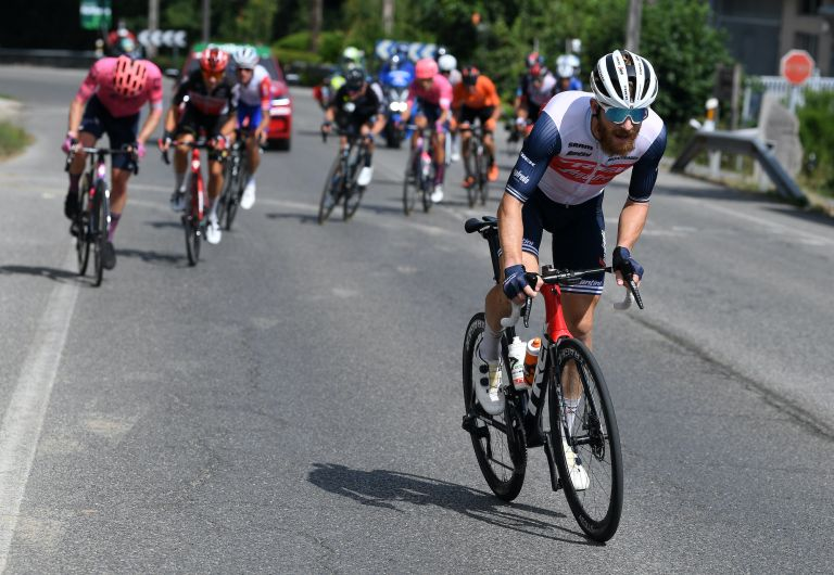 Quinn Simmons on stage 19 of the 2021 Vuelta a Espana