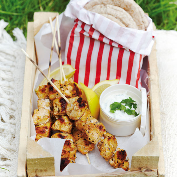 Chicken Souvlaki Greek Recipes Woman Home