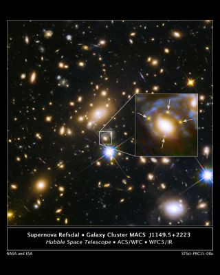 Four Images of the Same Supernova
