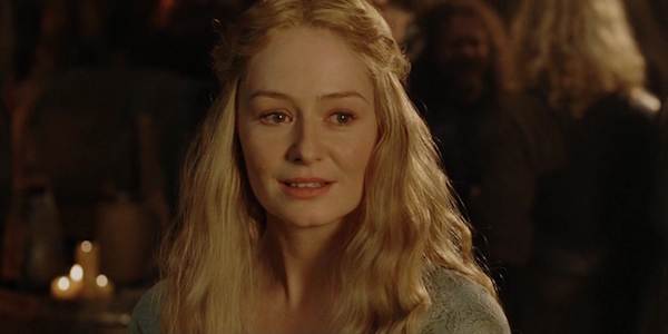Miranda Otto as Eowyn in The Lord of the Rings