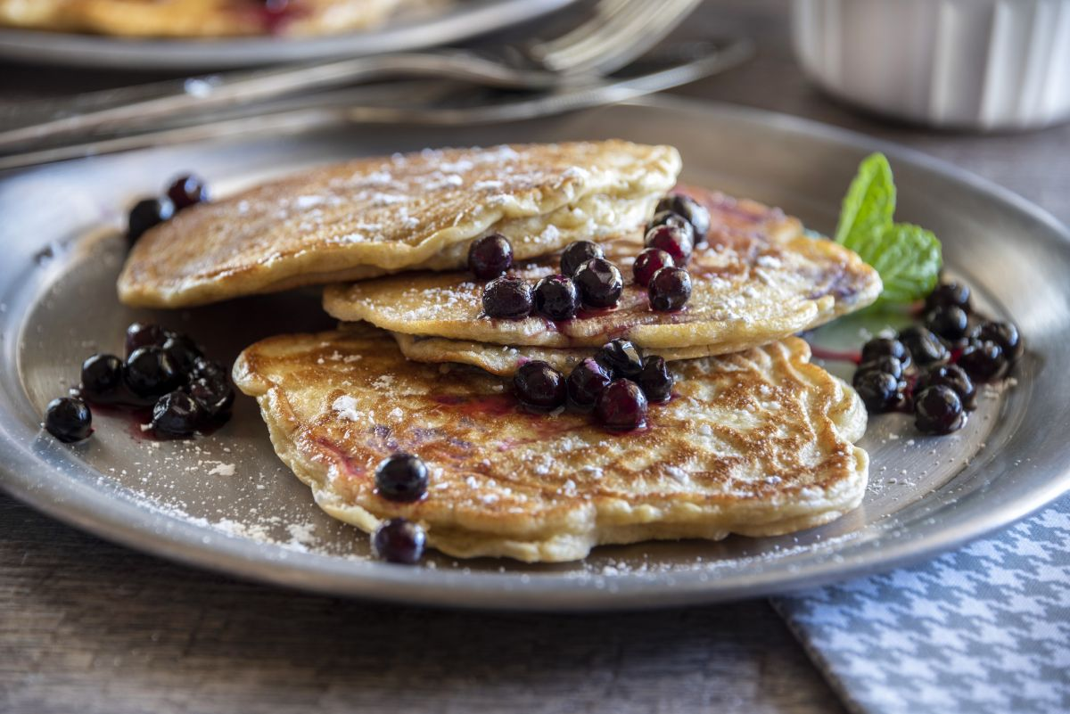You need to try these sourdough pancakes