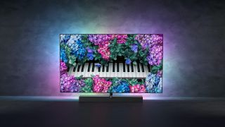 The new Philips OLED+ 935 has B&W sound and is available as a 48-inch model