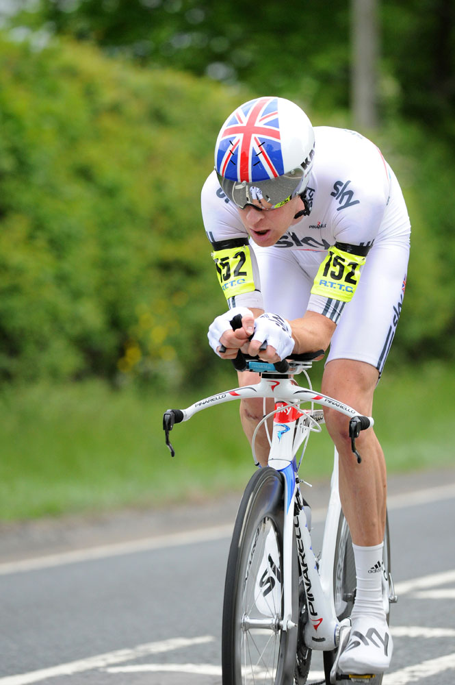 Bradley Wiggins, first men, National 10-mile time trial 2011