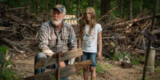 John Lithgow and Jete Laurence in Pet Sematary