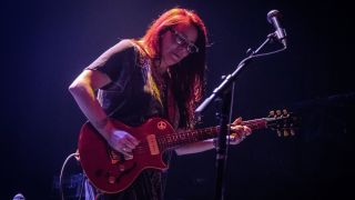 Carolyn Wonderland with John Mayall performs at Rockefeller on March 3, 2019 in Oslo, Norway.