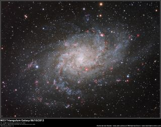 Triangulum Galaxy by André van der Hoeven and Michael van Doorn