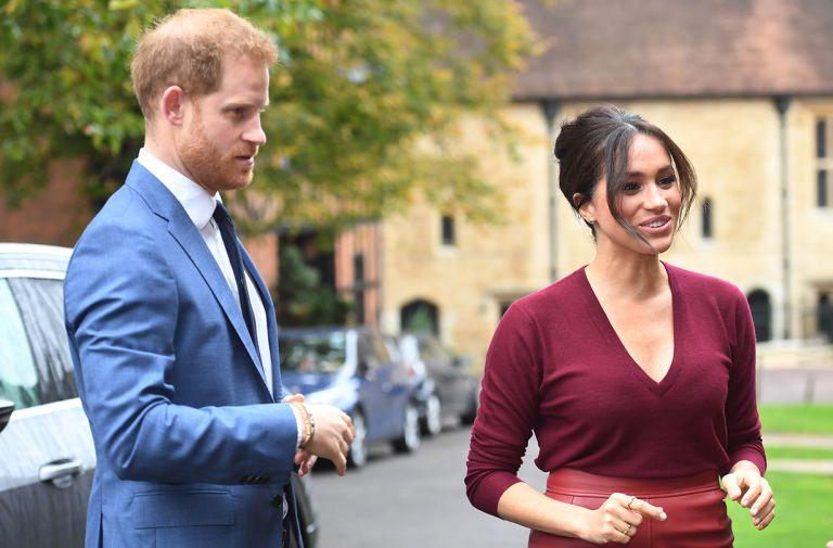 meghan markle explains reason prince harry crashed royal engagement
