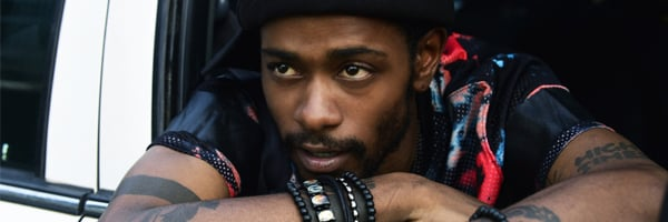 Lakeith Stanfield Atlanta leaning out a car window