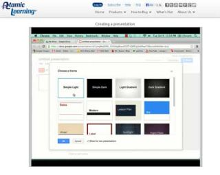 Video Tutorial: Google Docs – Creating a Presentation