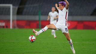 Tokyo Olympics schedule July 24-25: Megan Rapinoe, Team USA women's soccer