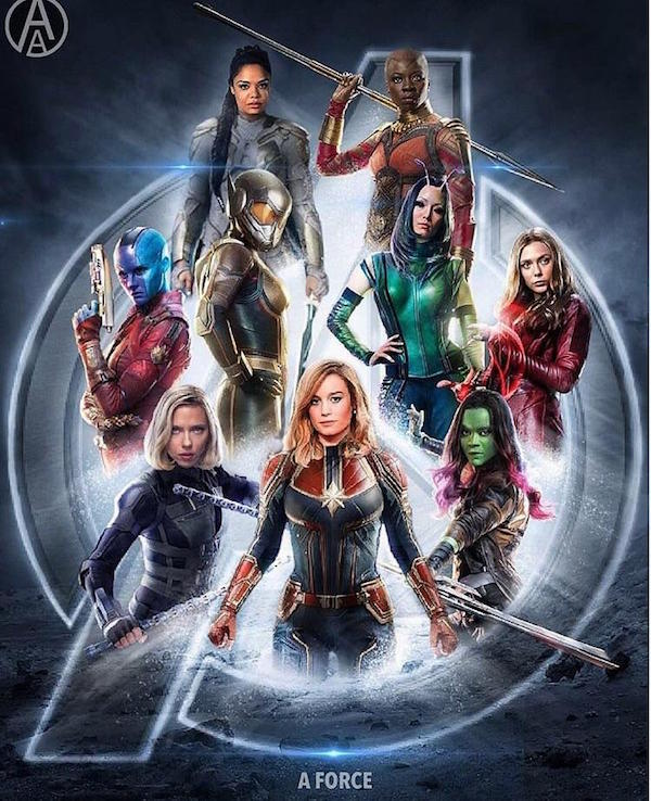 Marvel Fans Made An All-Female Movie Poster, And It's