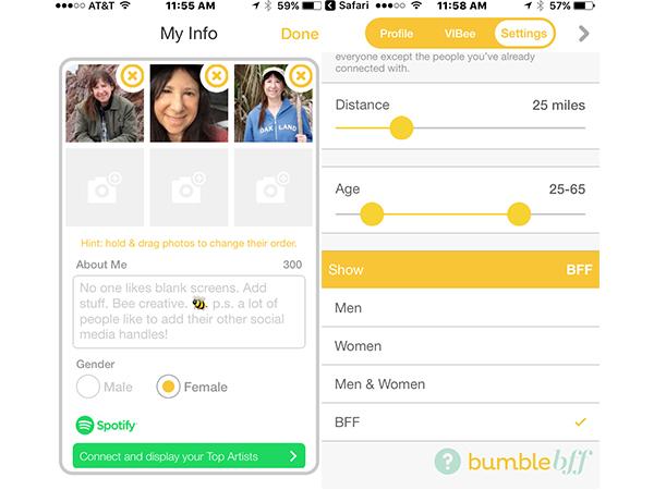 applications de rencontres bumble