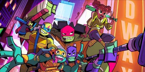 rise of the Teenage Mutant Ninja Turtles nickelodeon
