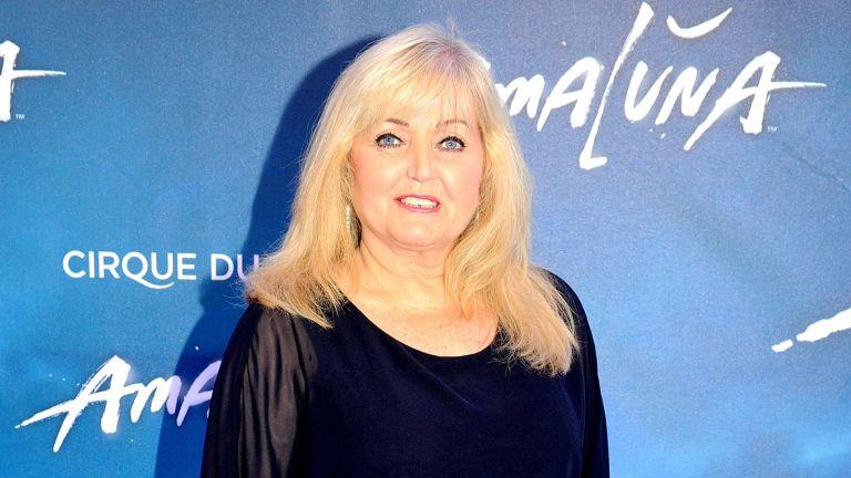 Linda Nolan arrives at the press night for Cirque Du Soleil's 'Amaluna' at The Big Top, Intu Trafford Centre on September 7, 2016