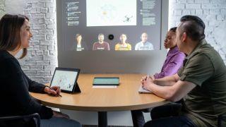 Microsoft hybrid working future