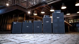 Laney Digbeth bass amps and cabs