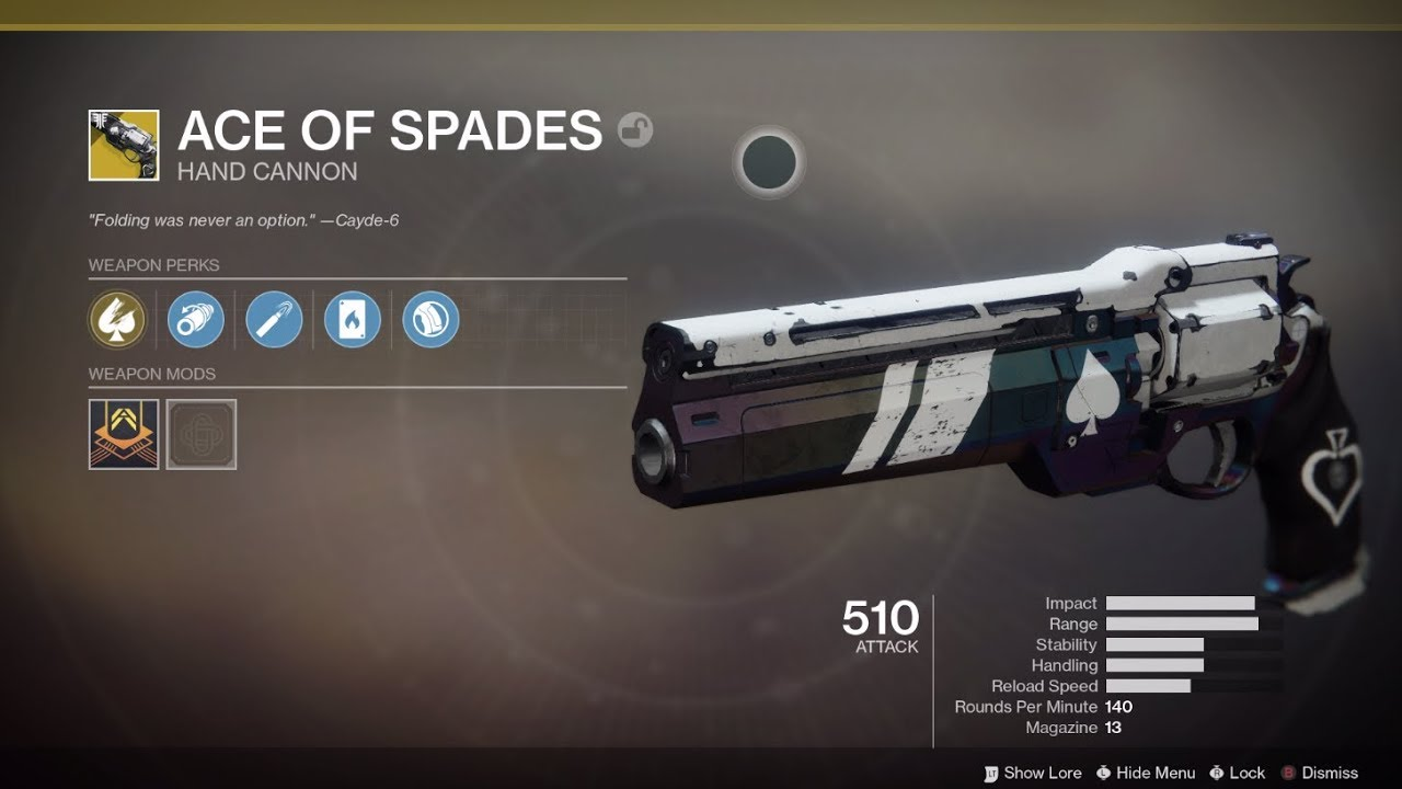 0fb006c424f Destiny 2 Ace of Spades  How to reclaim Cayde-6 s iconic Exotic hand cannon