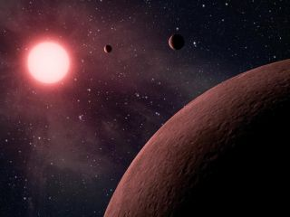 Dwarf Star and Its Planets