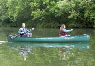 Chris Packham and stepdaughter Megan McCubbin take a canoe trip to search for otters in 'Chris and Meg's Wild Summer'.