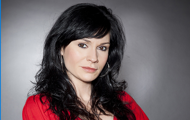 Emmerdale's Chas Dingle (played by Lucy Pargeter)