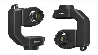 Canon's motorized pan/tilt head