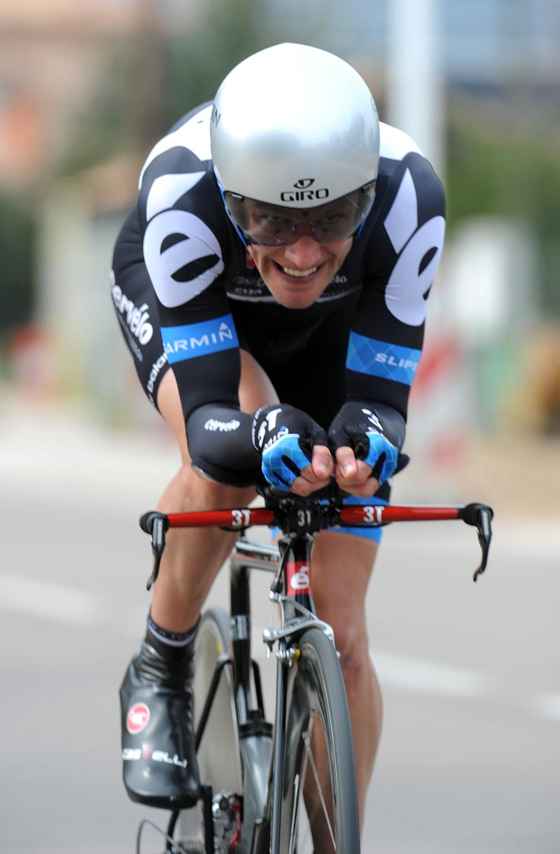 David Zabriskie, Criterium International 2011, stage three TT