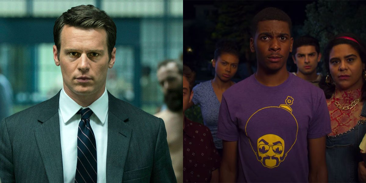 Netflix screenshots for On My Block and Mindhunter