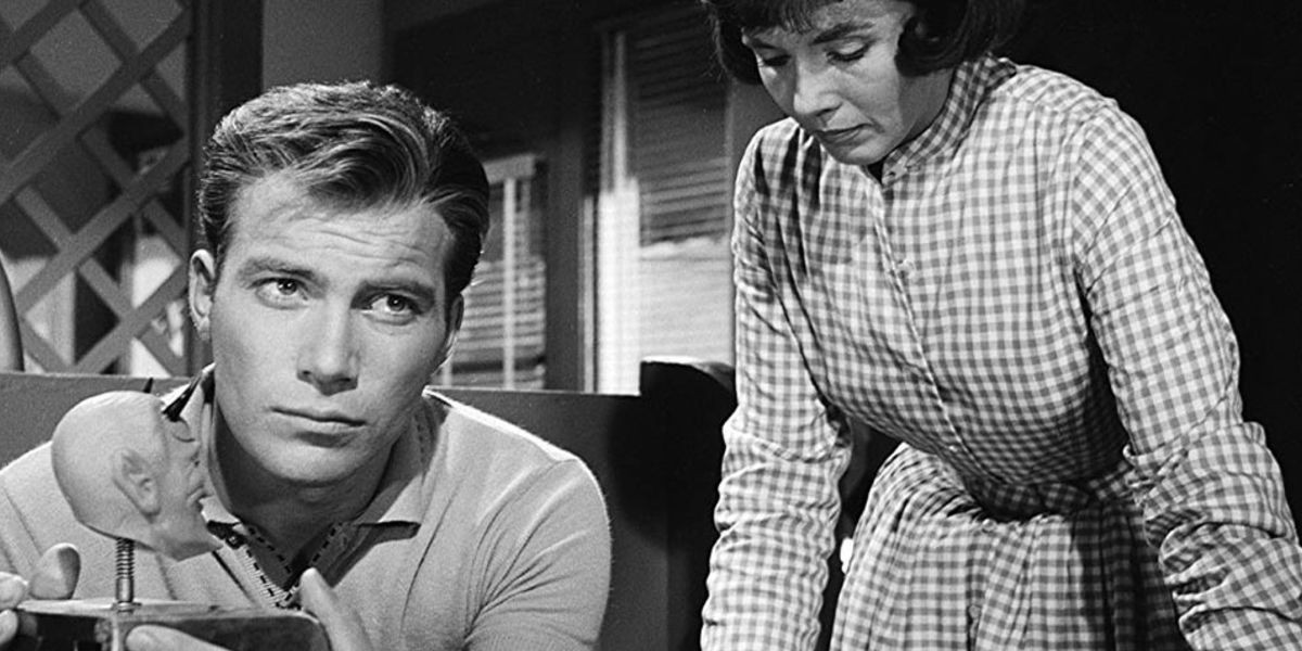 William Shatner with a little devil