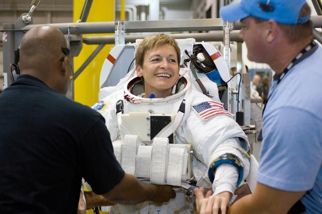 Peggy Whitson is back! The record-breaking astronaut reveals why she chose to command a private space mission after leaving NASA.