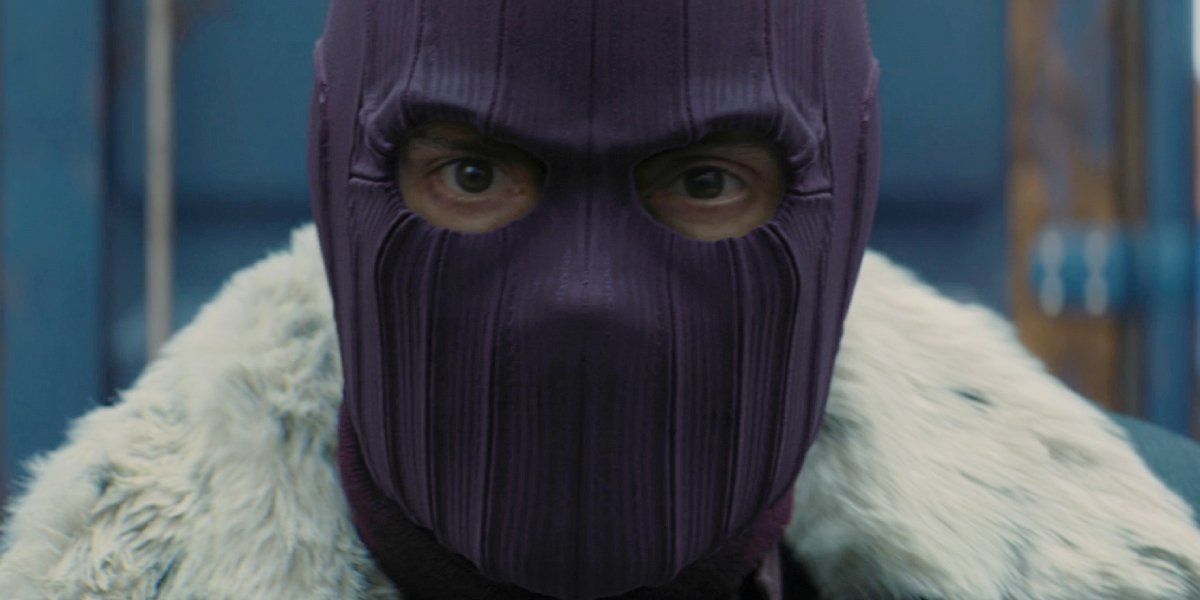 Daniel Brühl as Baron Zemo on The Falcon and the Winter Soldier