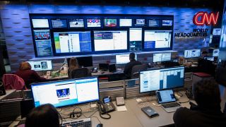 CNN's digital newsroom