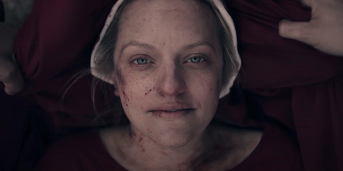 Elisabeth Moss as June Osborne on The Handmaid's Tale