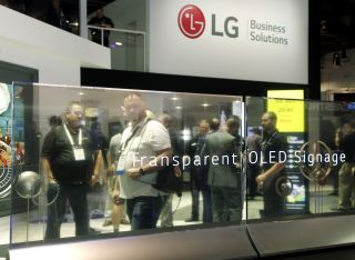 LG Launches Transparent OLED Commercial Displays in U.S.