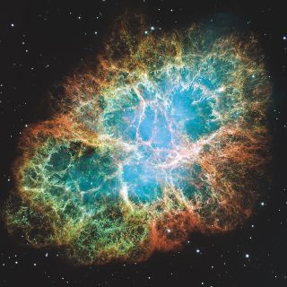 The Crab Nebula is one source of ultra-high-energy cosmic rays.