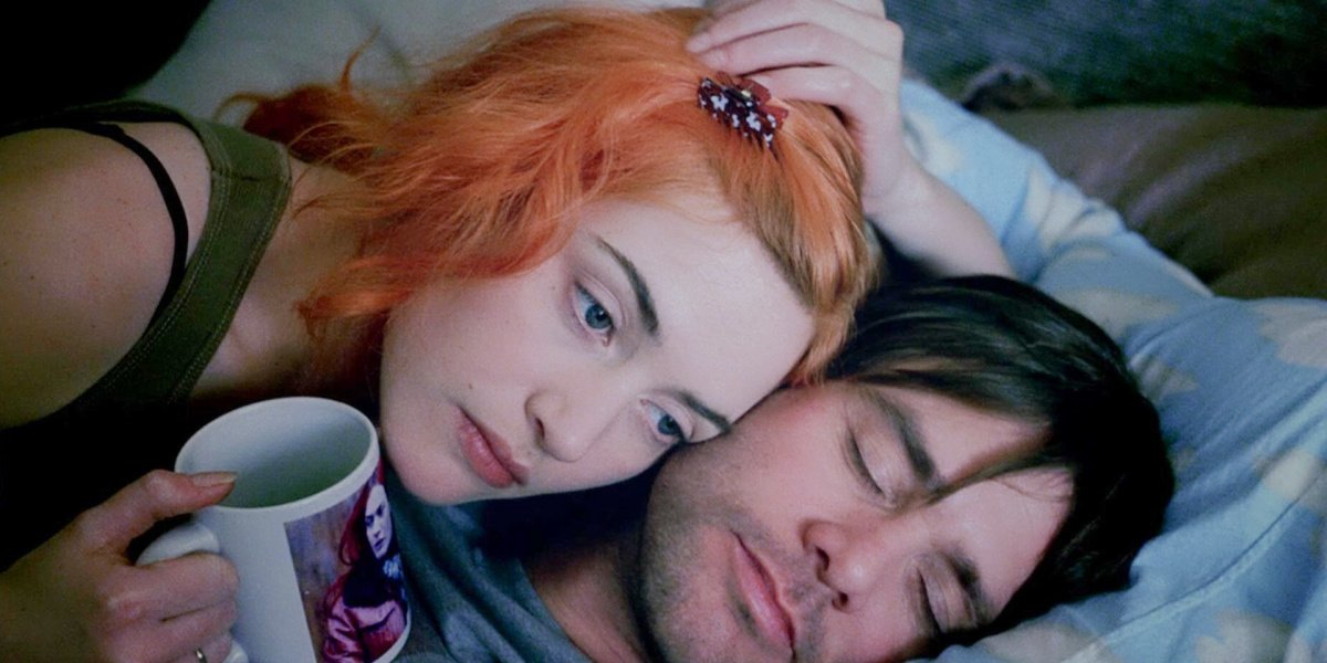 Kate Winslet in Eternal Sunshine of the Spotless Mind.