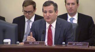 senator ted cruz, space frontier act