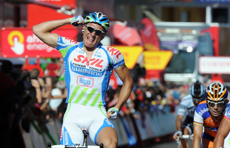 Marcel Kittel wins, Vuelta a Espana 2011, stage seven
