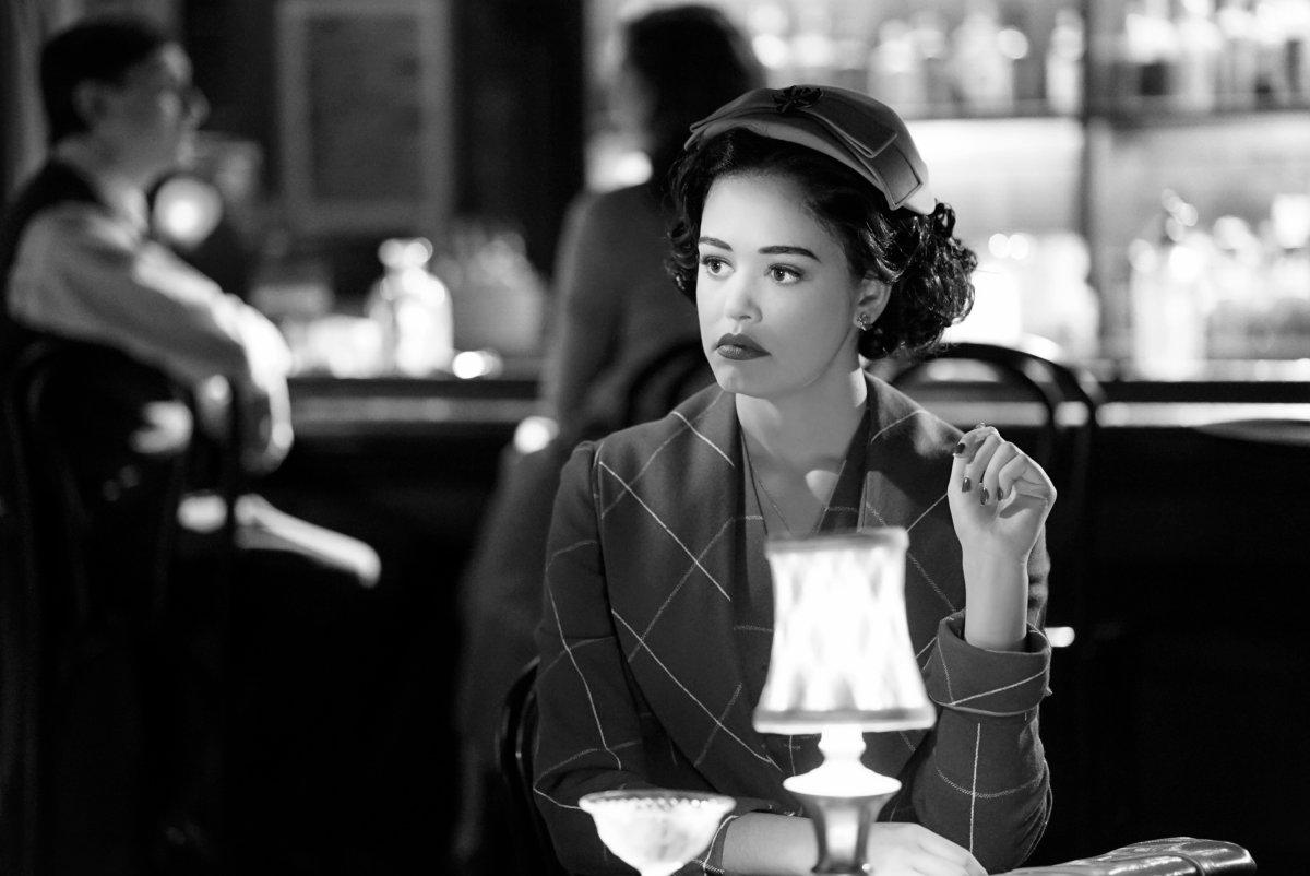 Legacies Season 2, Episode 14 The CW film noir Josie sits