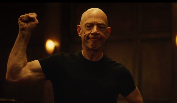 Jk simmons is looking ripped and basically unrecognizable ahead of