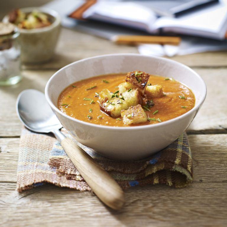 Nearly storecupboard lentil soup
