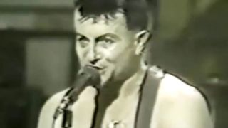 A screenshot of Lee Ving on SNL