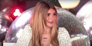 Olivia Jade Giannulli talks about Dancing With the Stars on Good Morning America