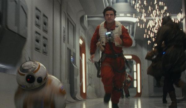 Oscar Isaac Poe Dameron Star Wars The Last Jedi BB-8