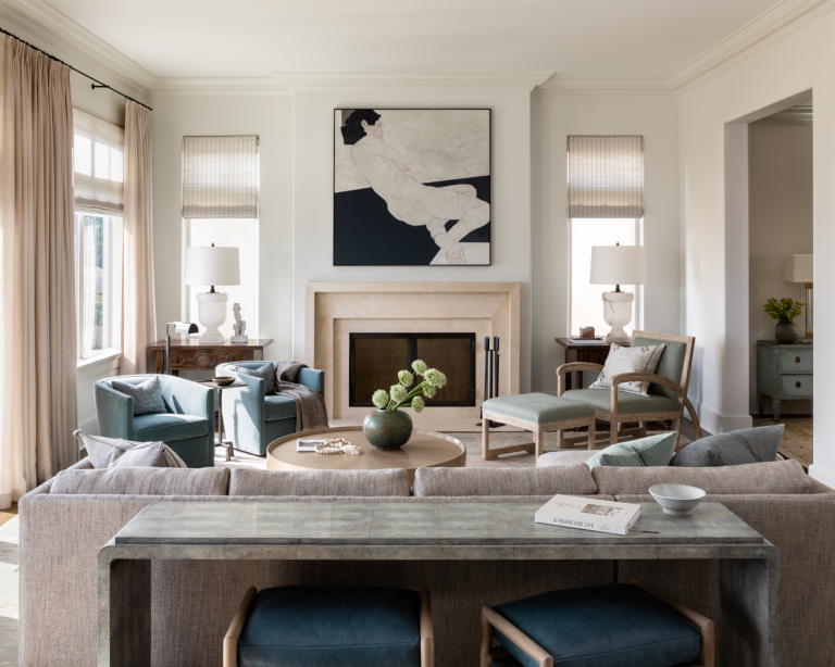 Living room: Sign up to the Homes & Gardens newsletter