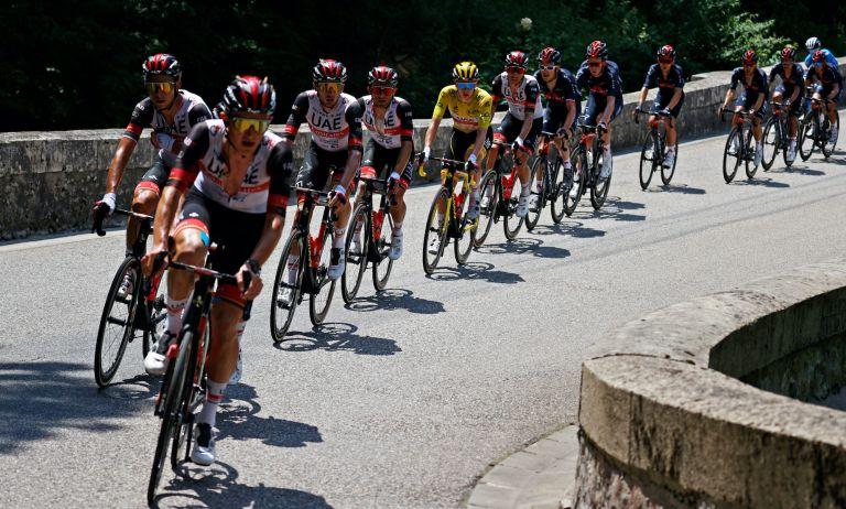UAE Team Emirates at the 2021 Tour de France