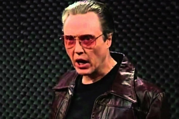 christopher walken yelling on saturday night live