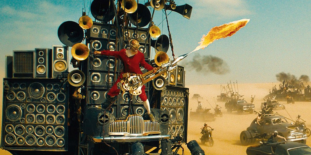 Mad Max: Fury Road guitar guy Coma The Doof Warrior