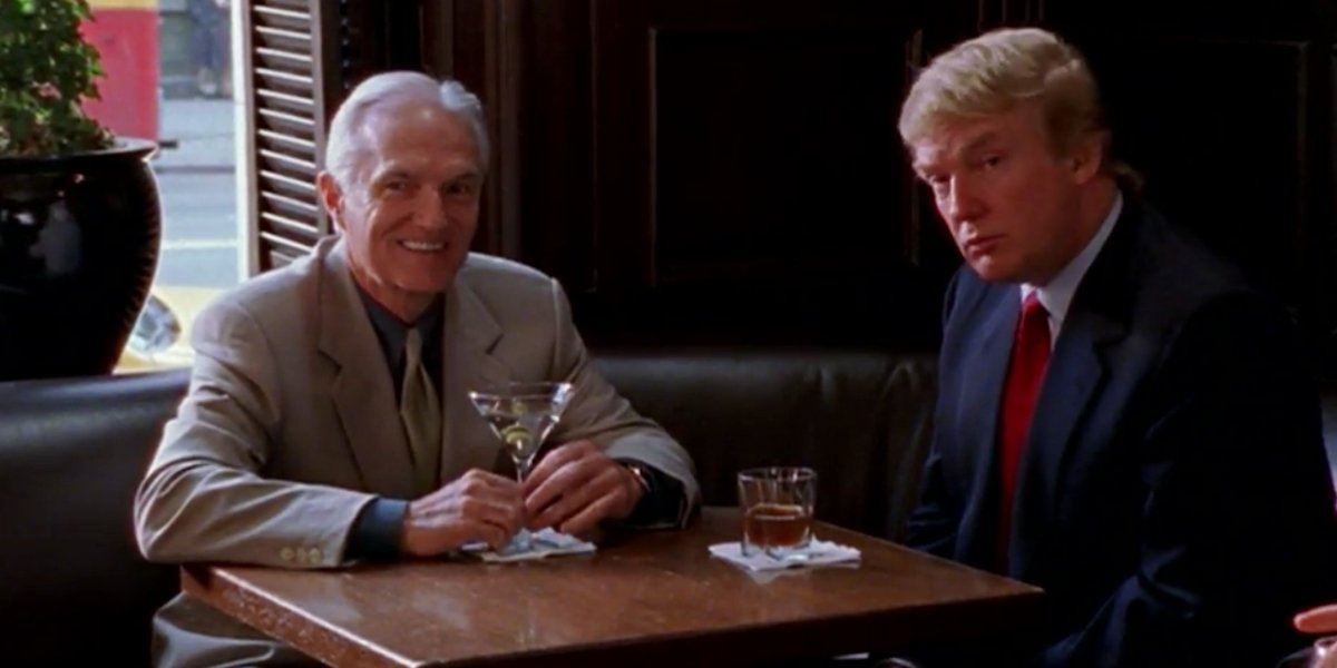 Bill McHugh and Donald Trump on Sex and the City