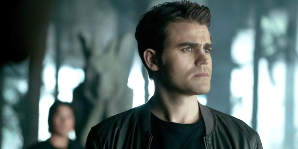 The Vampire Diaries Stefan Salvatore looks serious The CW